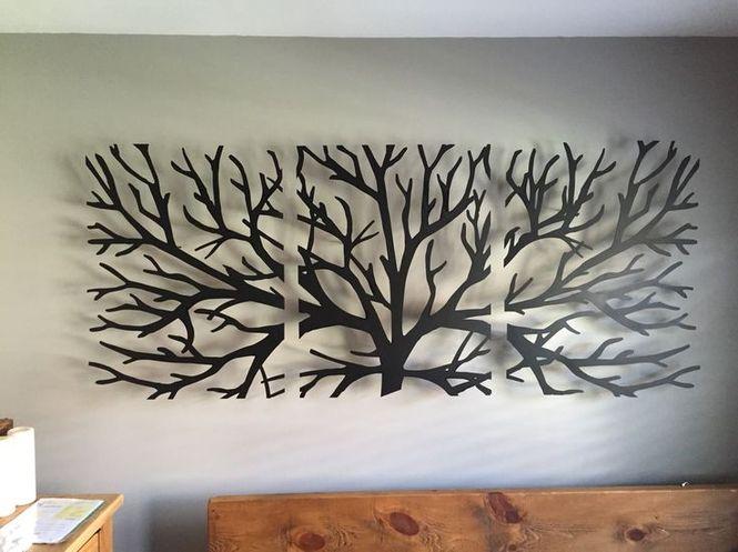 Декоры из металла на стену